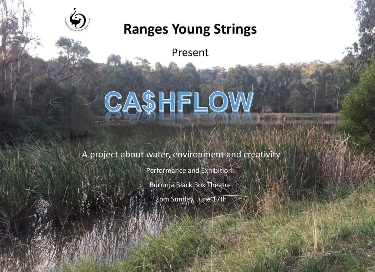 Ranges Young Strings Ca$hflow Invitation 17 July 2018