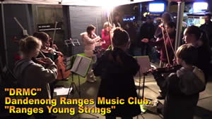 Ranges Young Strings at Belgrave Lantern Parade