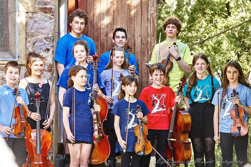 Ranges Young Strings group shot