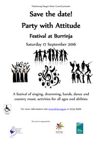 Party with Attitude flyer thumbnail