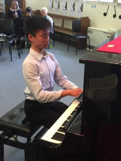 Youth Music Awards 2017 - Matthew Wu –1st Prize winner – Krans (piano)