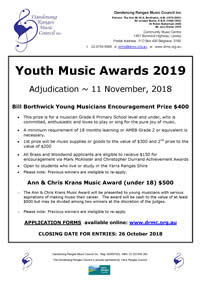 Youth Music Awards 2018 19 Flyer thumb