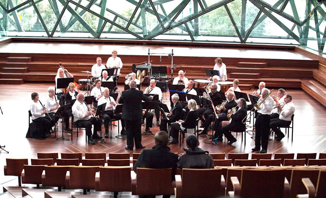 New Horizons Concert Band at Federation Square