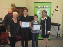 Young Musicians Encouragement Prize recipients 2015 thumb