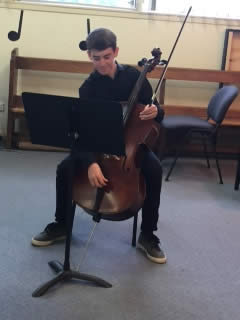 Youth Music Awards 2017 - Indi Blake – 2nd Prize Borthwick (cello)