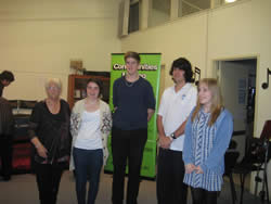 Youth Music Awards Upwey High School recipients 2015 thumb