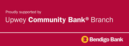 Upwey Community Bank - proud supporter of the Awards