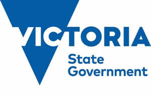 Vic Gov logo with words